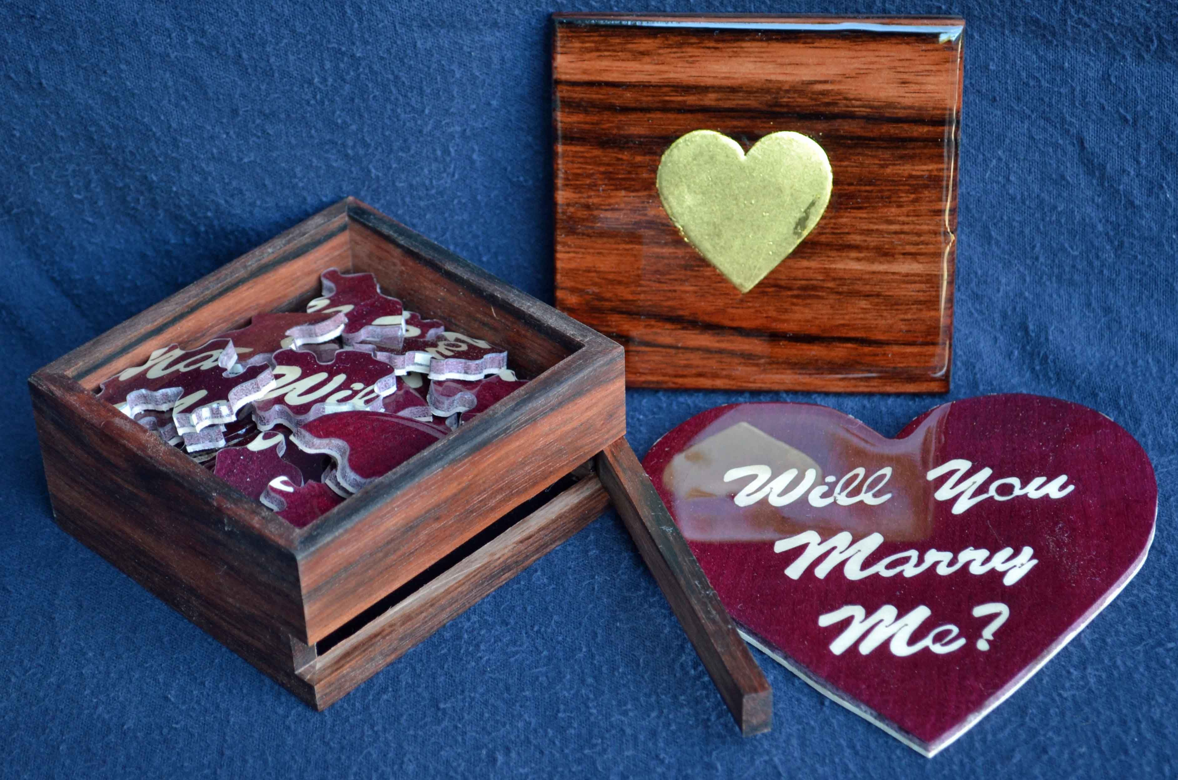 Buy A Hand Crafted Surprise Proposal Ring Box With Made