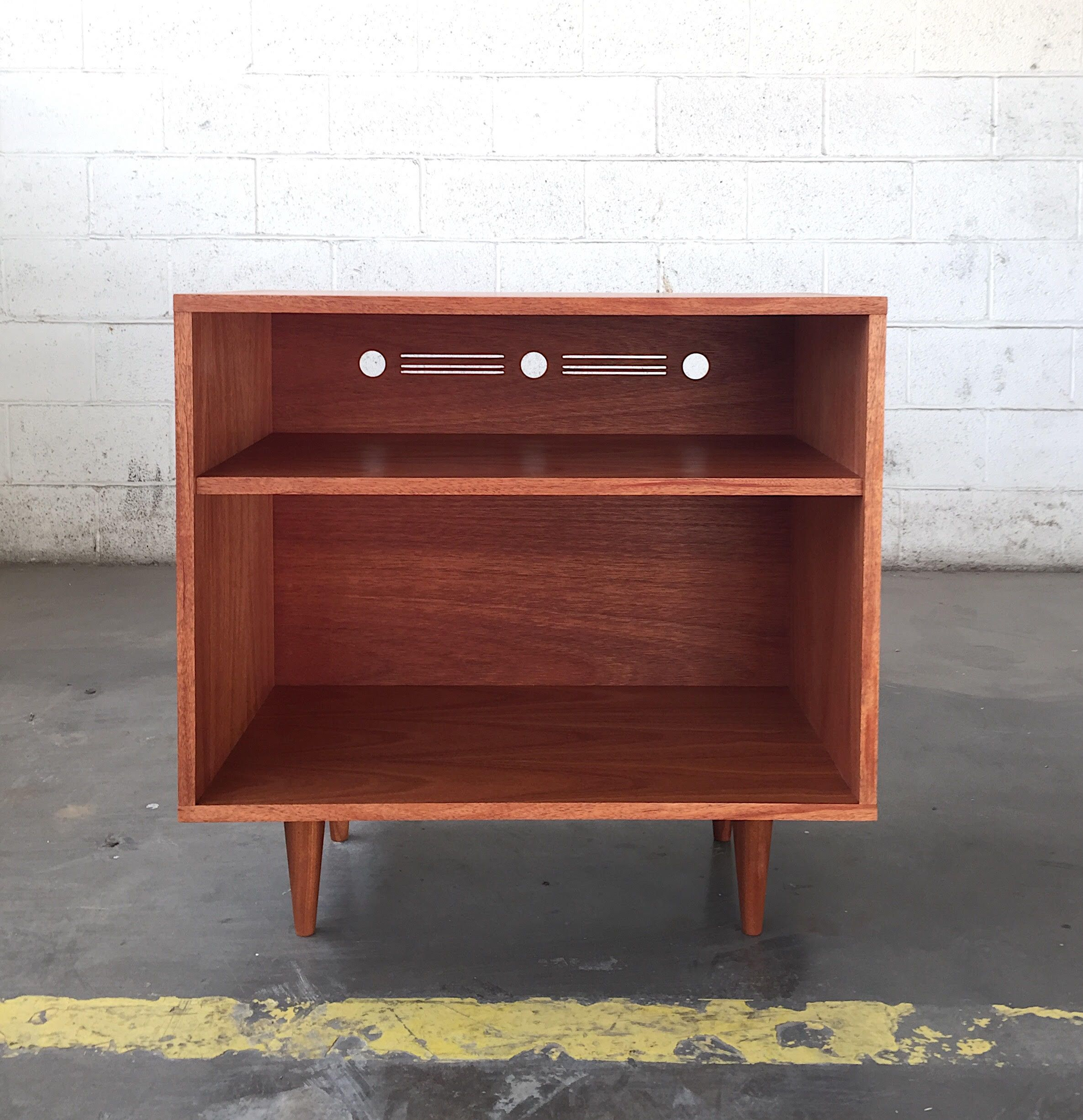 Buy A Hand Made Small Mid Century Modern Style Record