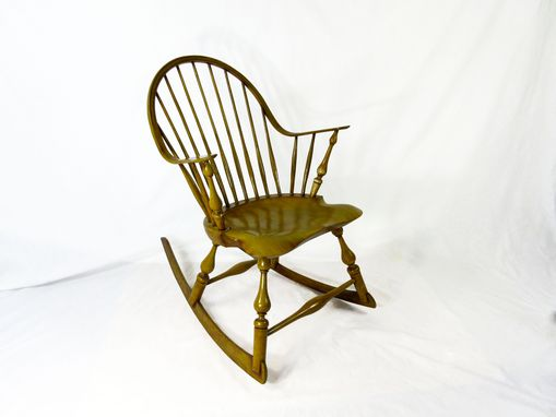 Custom Made Continuous Arm Rocking Chair