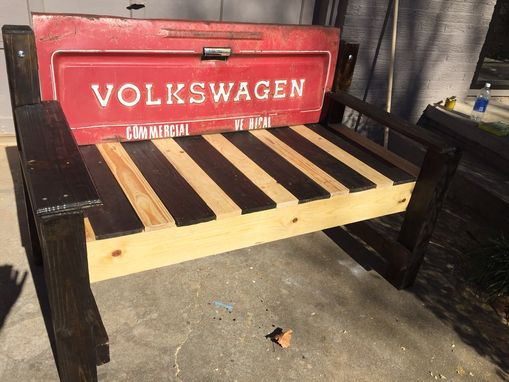 Custom Made Volkswagen Tailgate Bench