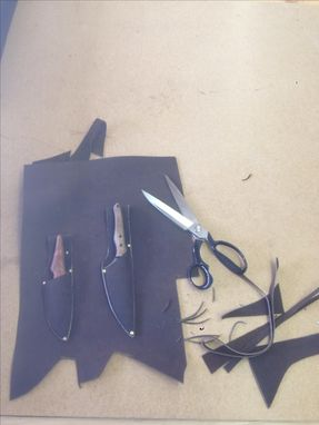 Custom Made Leather Knife Sheaths Made To Order.