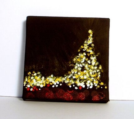 Custom Made Mini Painting Holiday, Christmas Painting's
