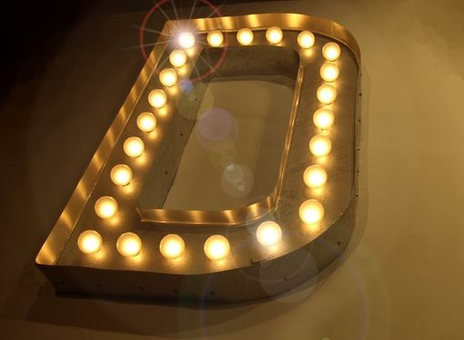 hand made d large huge movie vintage marquee art bulb