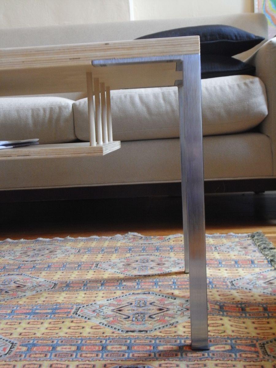 Handmade Skinny Coffee Table by Collab