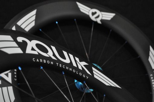 Custom Made 86mm Carbon Road Wheelset