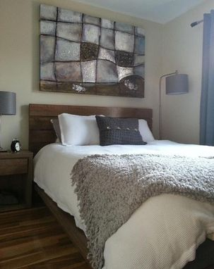 Custom Made Queen Rustic Platform Bed