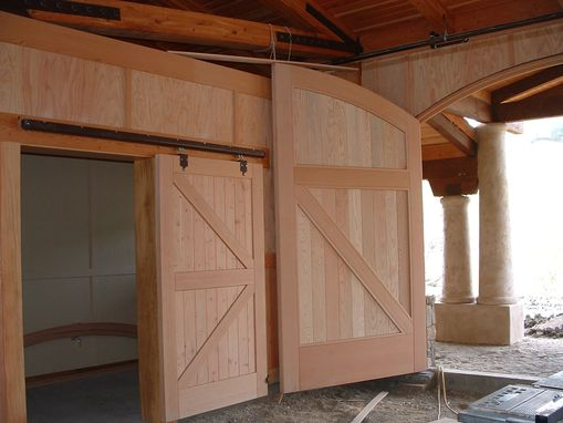 Custom Made Douglas Fir Barn Doors