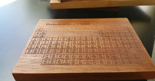 Custom Made Personalized Serving Board - Engraved Sushi, Veggie, Cheese Board