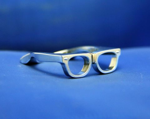Custom Made Nerd Glasses Ring 2