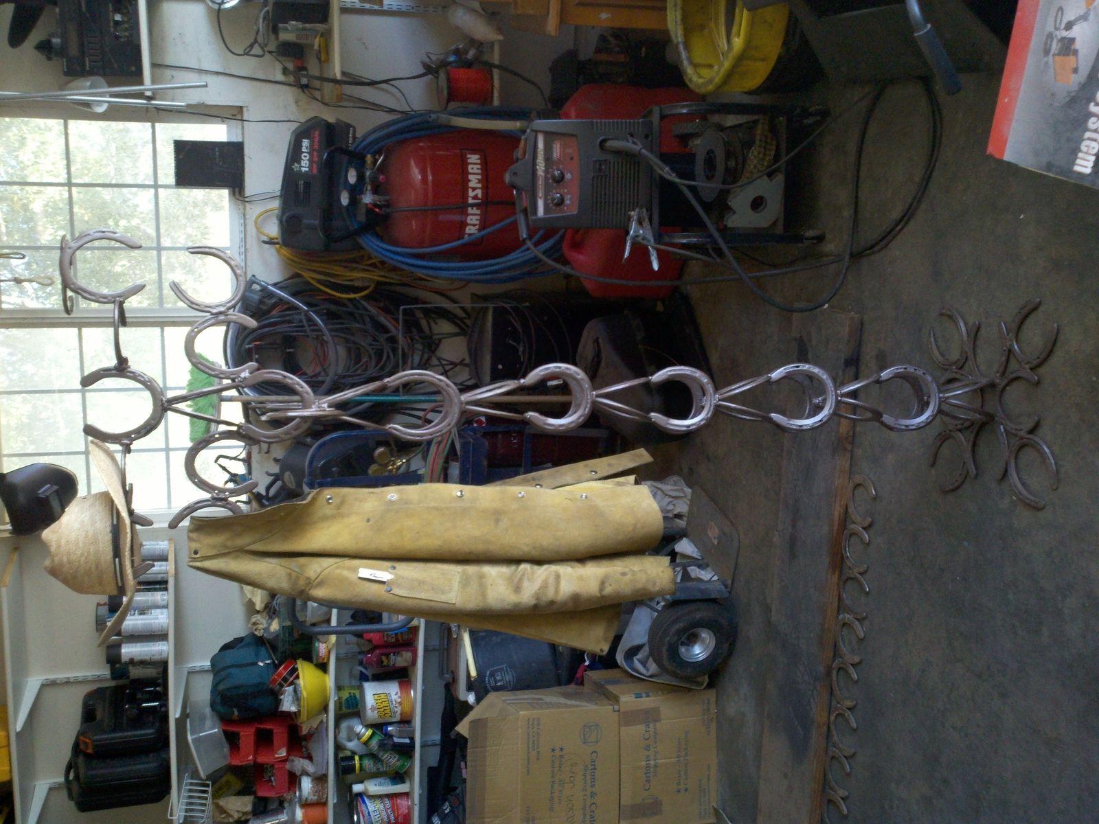 Handmade Coat Rack Hat Rack By Dh Metal Works