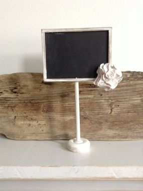 Custom Made Shabby Chic Wedding Chalkboard Table Numbers/Display Signs