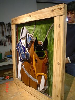 Custom Made Horse And Rider