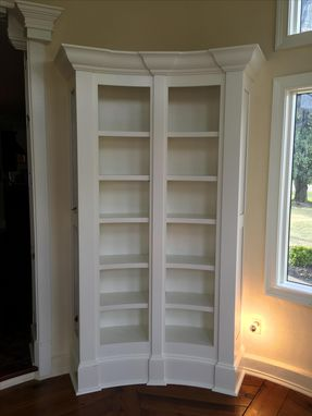 Custom Made Round Bookcase