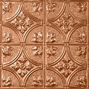 Custom Made Pressed Tin Ceiling Copper Finish