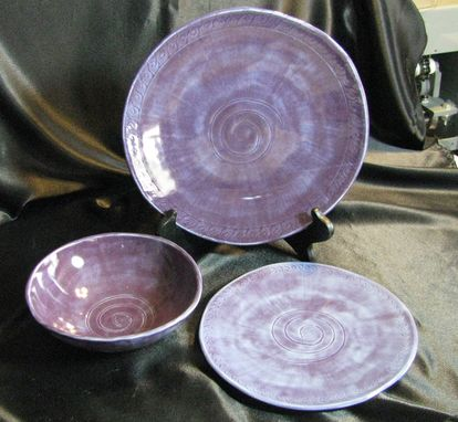 Custom Made Custom Set Of Dishes