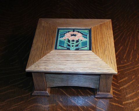 Custom Made Arts And Crafts Keepsake Box