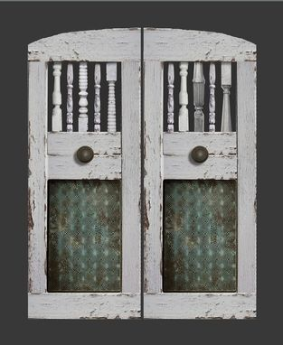 Hand Made Farmhouse Industrial Saloon Doors By Iron