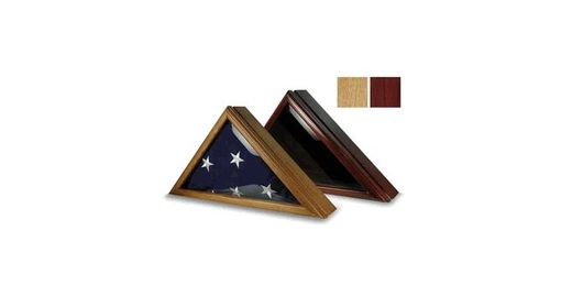 Custom Made Armed Force Flag Display Case Fit 5ft X 9.5ft Flag