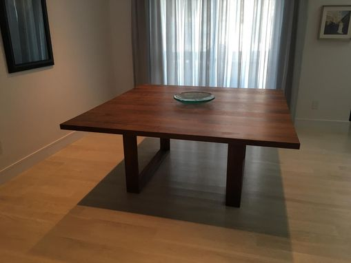 Custom Made Square Modern Dining Table