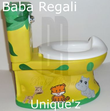 Custom Made Safari My Size Potty Chair (Jungle Potty Chair)