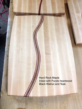 Custom Made Custom Heirloom Cutting Board