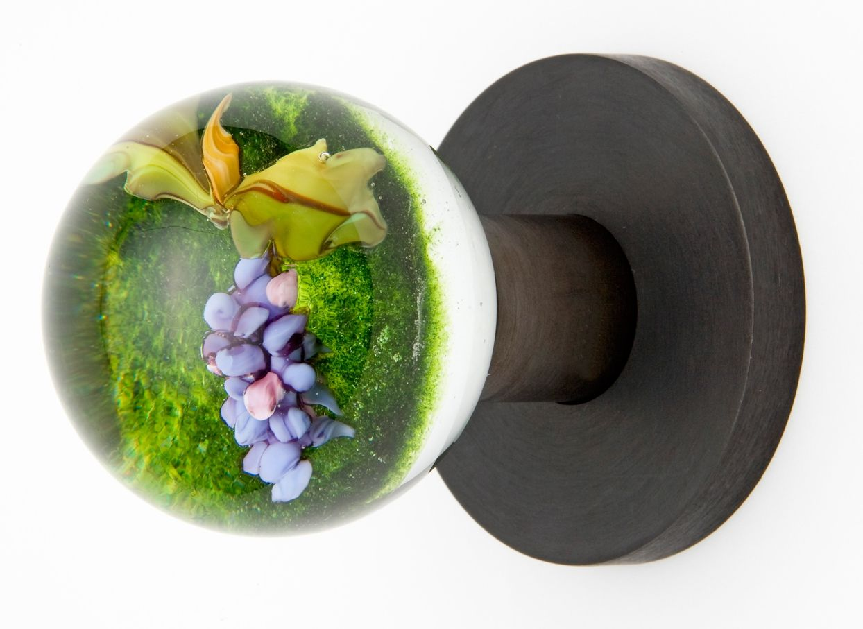Handmade Grape Vine Doorknob By Out Of The Blue Design Studio