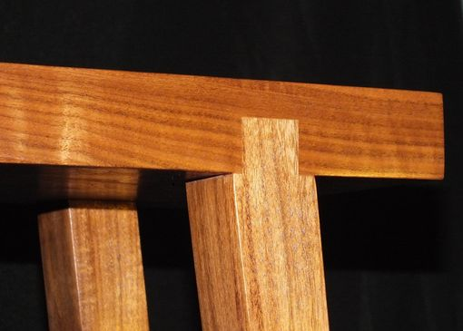 Custom Made Splayed Legs On A Hall Table