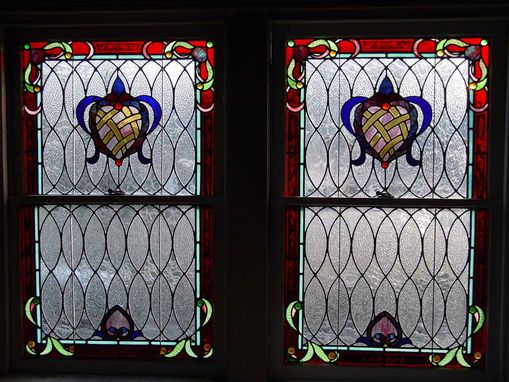 Custom Made Victorian Inspired Stained Glass Windows