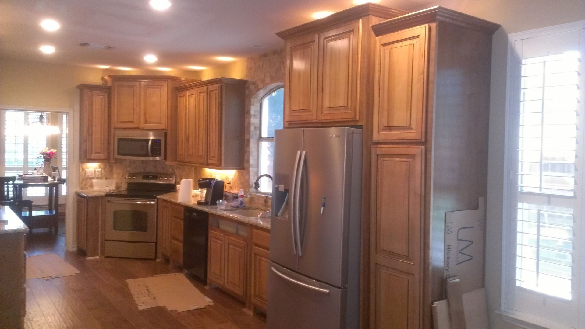 Custom Maple Kitchen Stained And Glazed by Top Quality ...