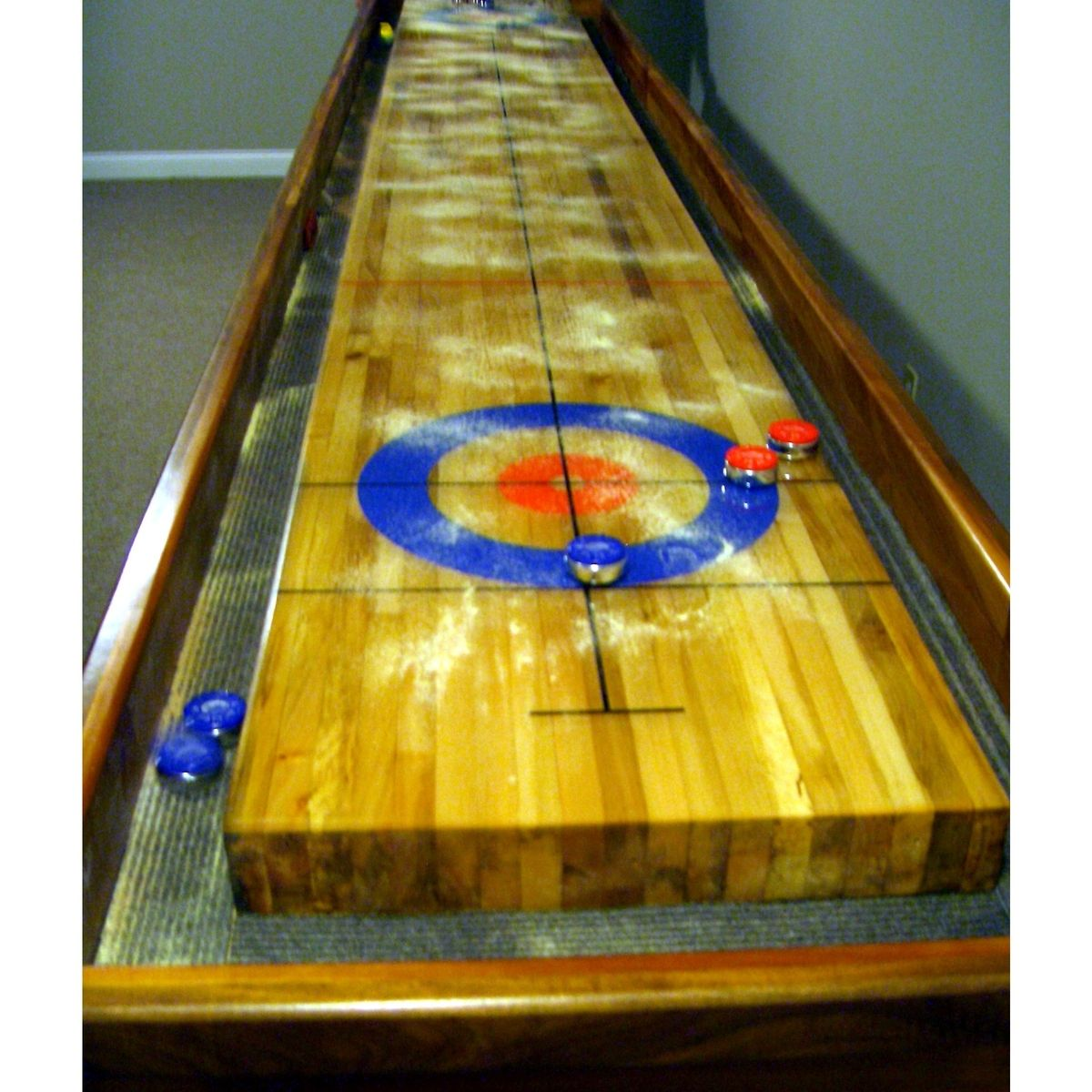Handmade Curling Table By Custom Furniture Creations