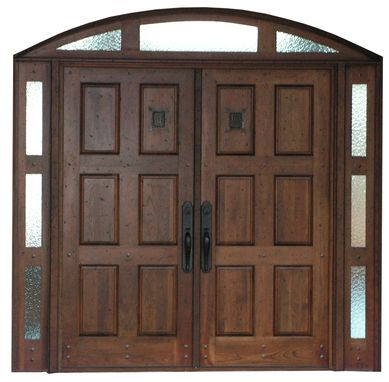 Custom Made Arched Entry Door