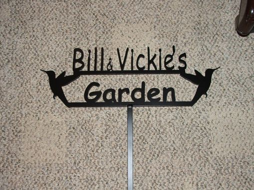 Custom Made Personalized Garden Signs