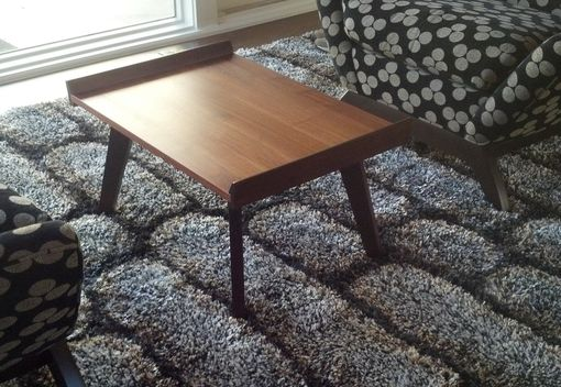Custom Made Exotic Hardwood Accent Table