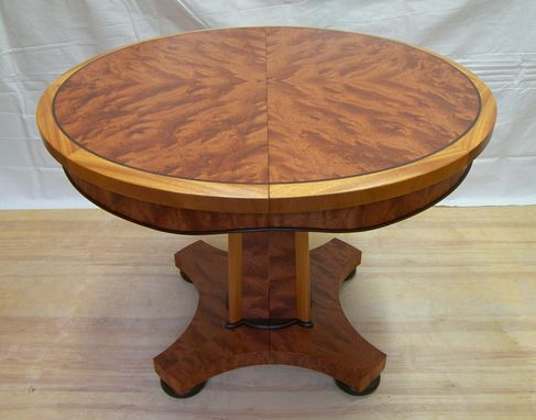 Custom Made Bubinga Dinning Table
