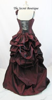 Custom Made Steampunk Wedding Dress