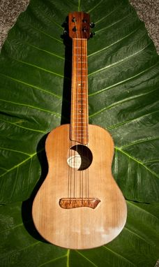Custom Made Koa Tenor Ukulele