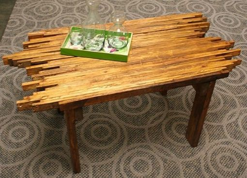 Custom Made Pallet Slat Table