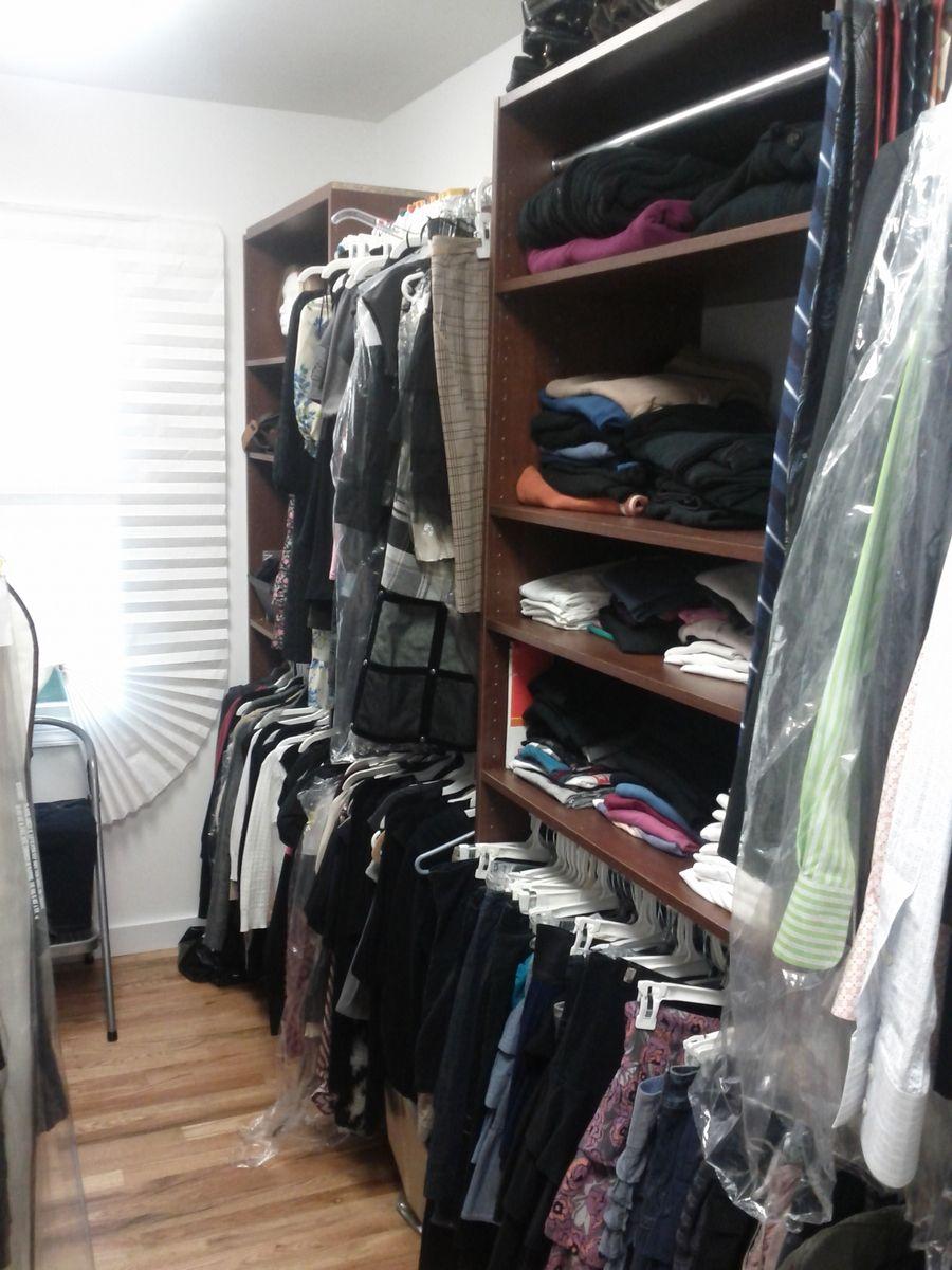 Handmade Custom Solution Walk In Closet Creating Hanging