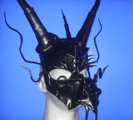 Custom Made Dragon Leather Costume Mask
