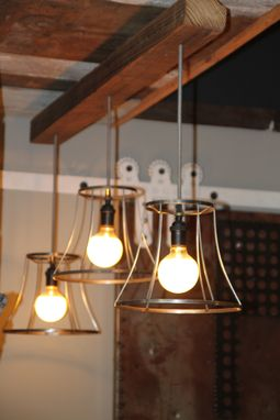 Custom Made Custom Lighting With Reclaimed Wood