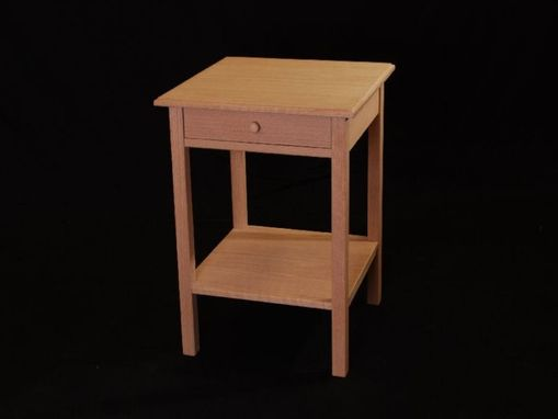 Custom Made Shaker Style Night Stand Table
