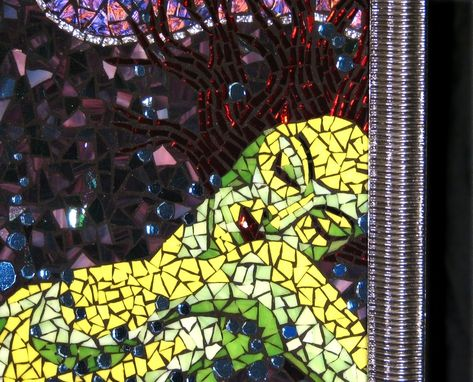 "Custom Made ""Letting Go"" Mosaic Wall Hanging"