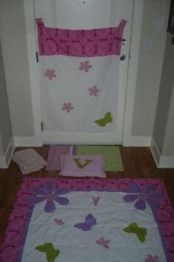 Custom Made Butterfly Twin Bedding Set