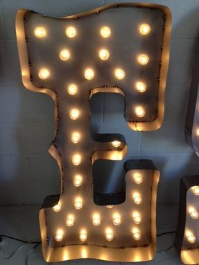Custom Made Letter Metal 24 Inch Tall