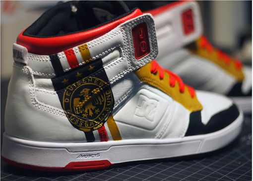Custom Made German National Team Sneakers
