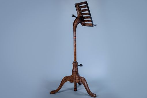 Custom Made Music Stand Inspired By Sam Maloof