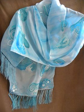 Custom Made Silk Heart Scarf