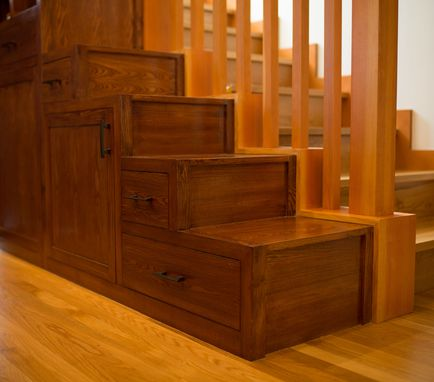 Custom Made Pantry And Japanese Style Step Tansu