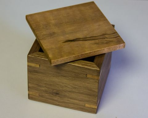 Custom Made Lidded Box
