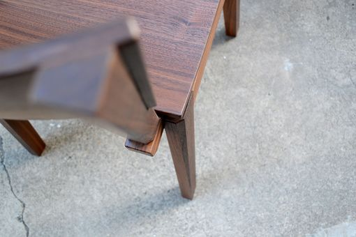 Custom Made Walnut Chair
